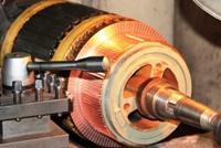 Bobinado de motores C.A. de ¼ HP hasta 500 HP.
