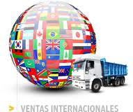 Servicios de agencias internacionales de transporte y expedicion
