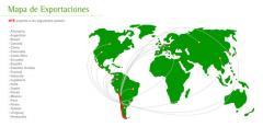 Mapa de exportaciones
