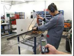 Servicio de control de ruidos y vibraciones