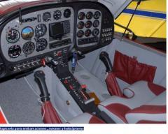 Tapicería para embarcaciones, aviones y helicópteros