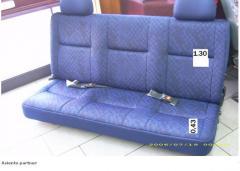 Fabircacion de asientos partner