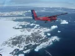 Pasajes en Antártica