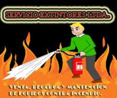 Venta, recargas y mantención de extintores