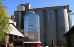 Transportación de los granos, así como el secado