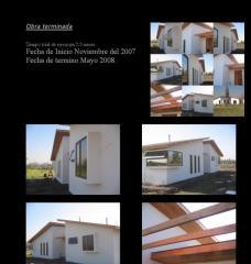 Construcción: Casa Urrutia - 160 m2 - Calera de